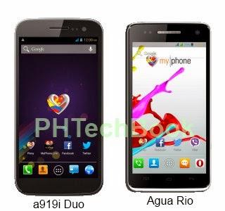 MyPhone Rio vs MyPhone A919i