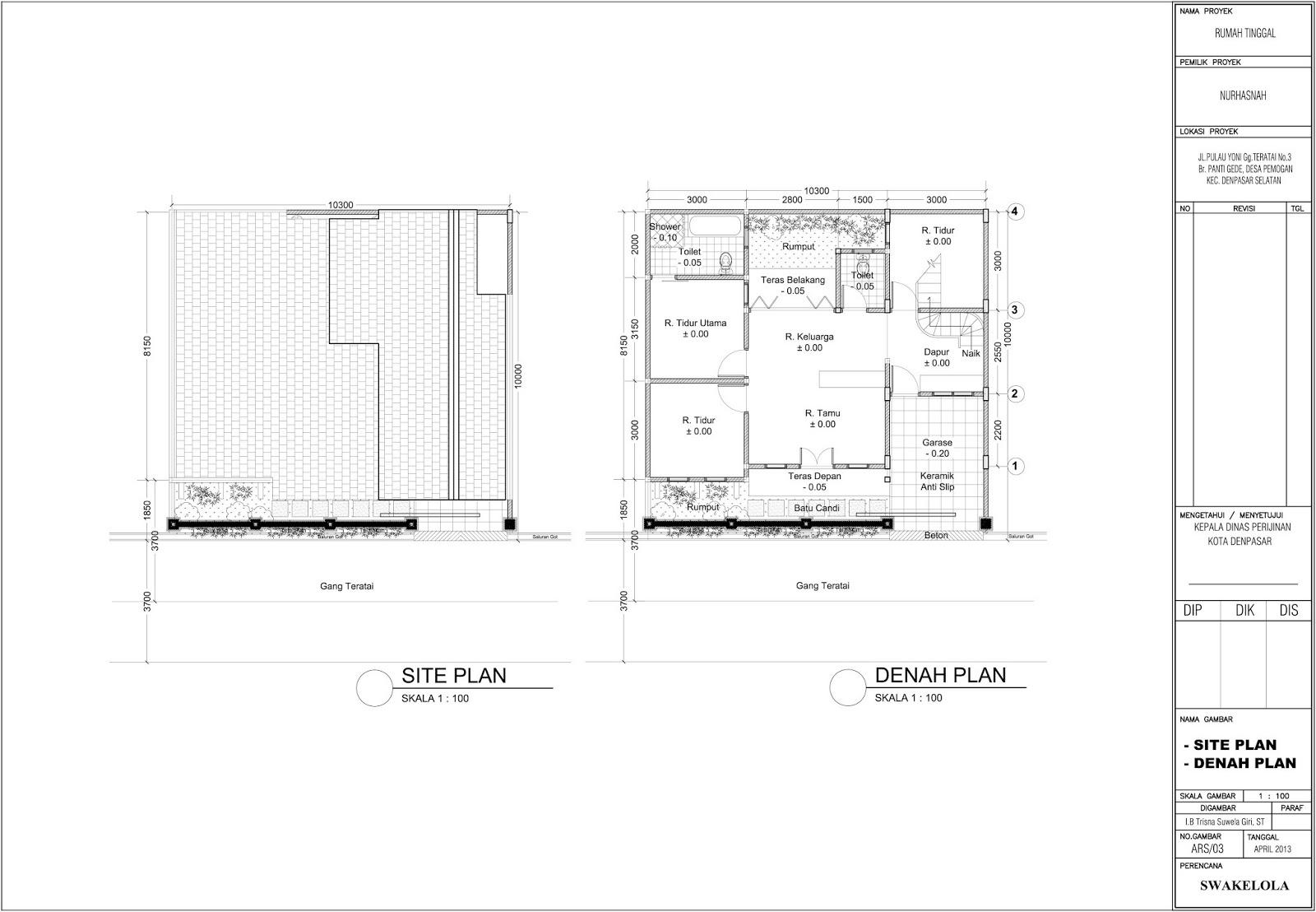 gambar 3 dimensi 3d eksterior interior tsg