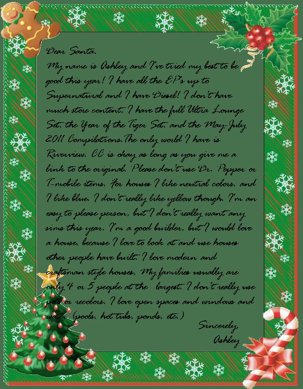 Secret Santa Template Letters secret santa letter for pinterest