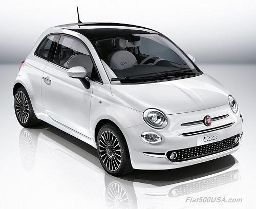 New Fiat 500 Upper View