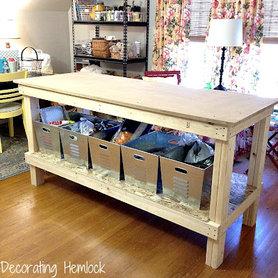 Serenity now more highlighted links share your best post for Crafts table with storage