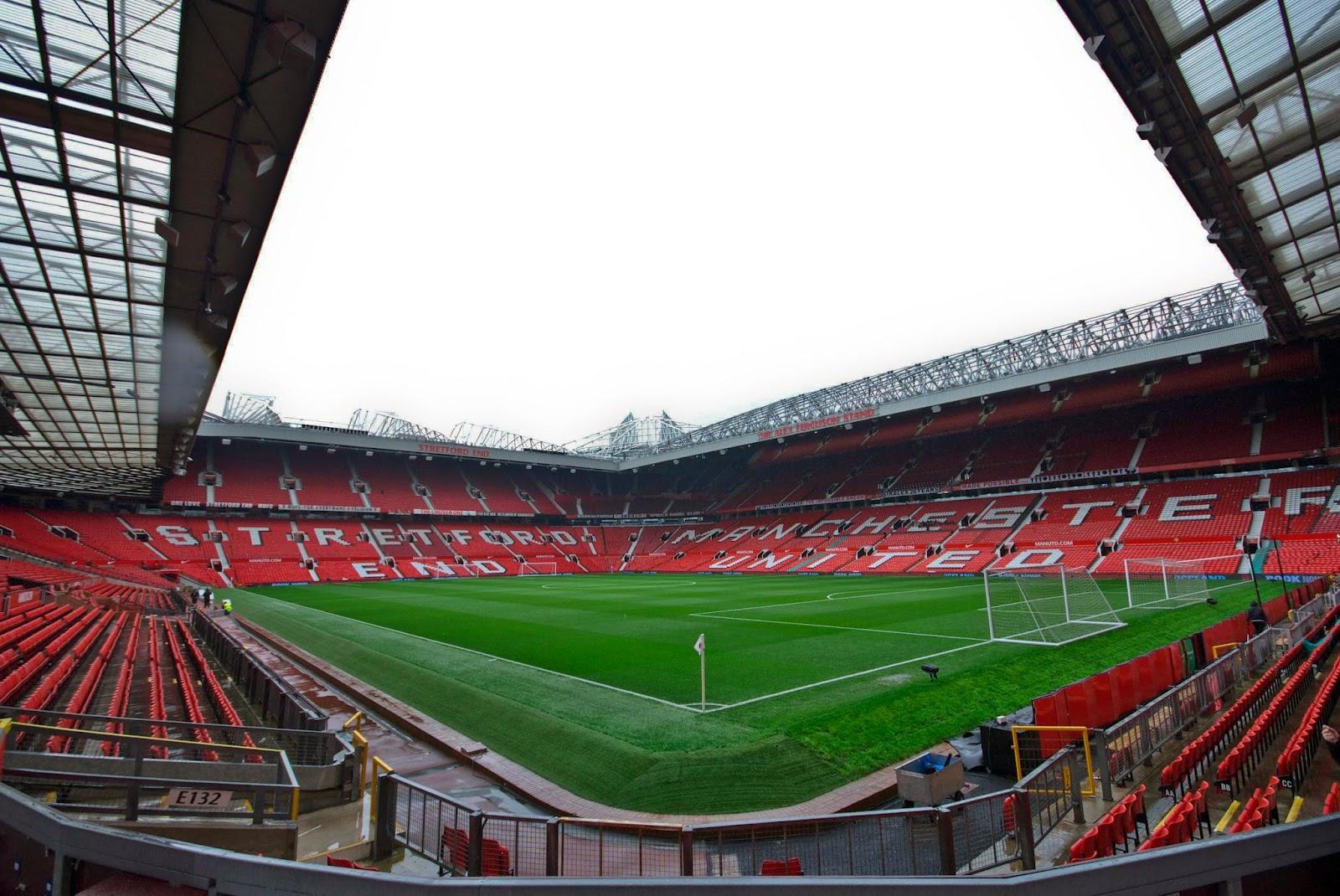 Rapids England Tour 2014: Manchester United Stadium Tour