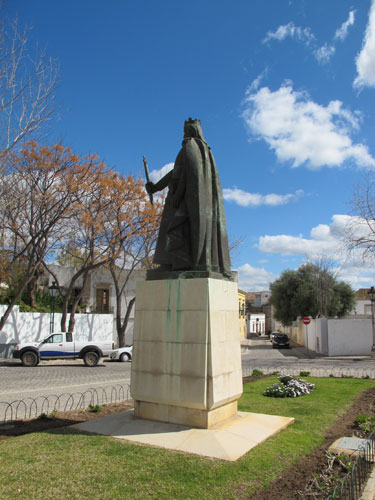 Statue of King Afonso III Faro, Algarve