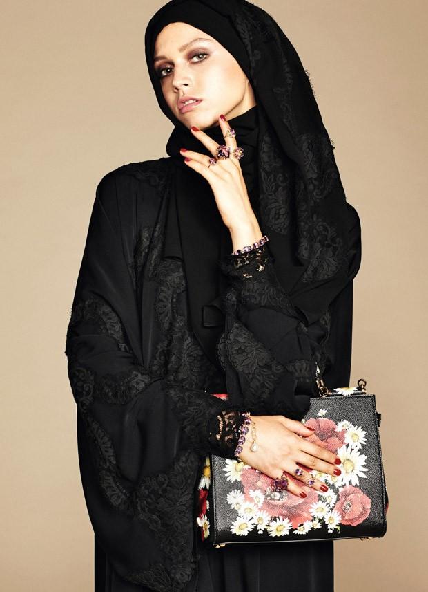 Dolce & Gabbana Abaya Collection 2016