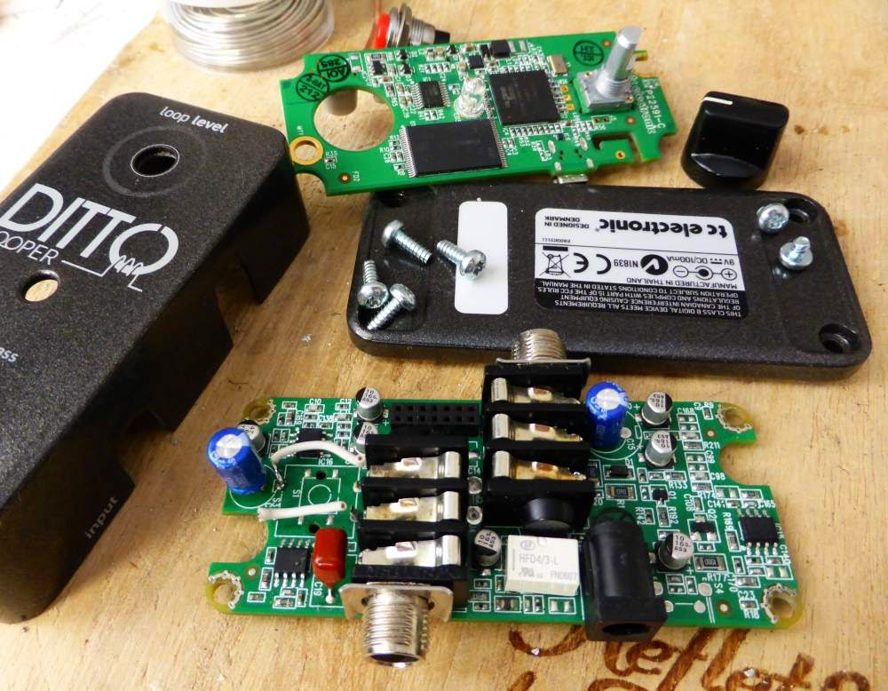 Coda Effects Fixing A Ditto Looper Broken Switch Step
