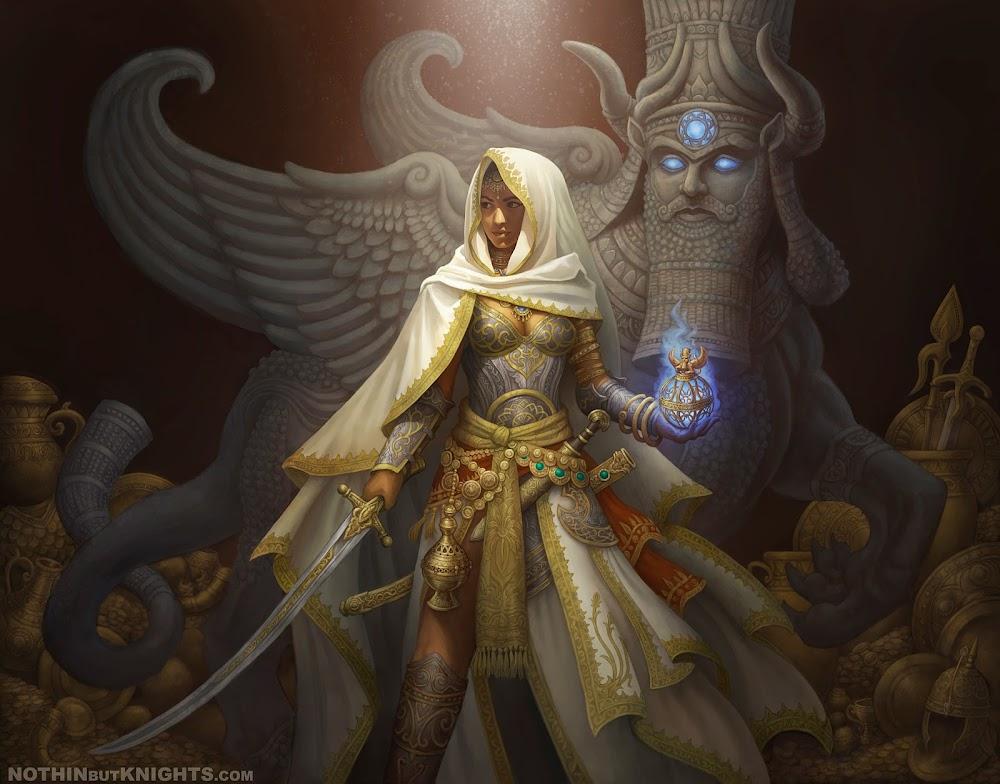 Fantasy high priestess