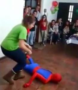 Acorda Homem Aranha