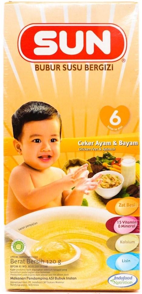 Daftar Lengkap Bubur Instan Untuk Bayi Umur 6 Bulan Keatas