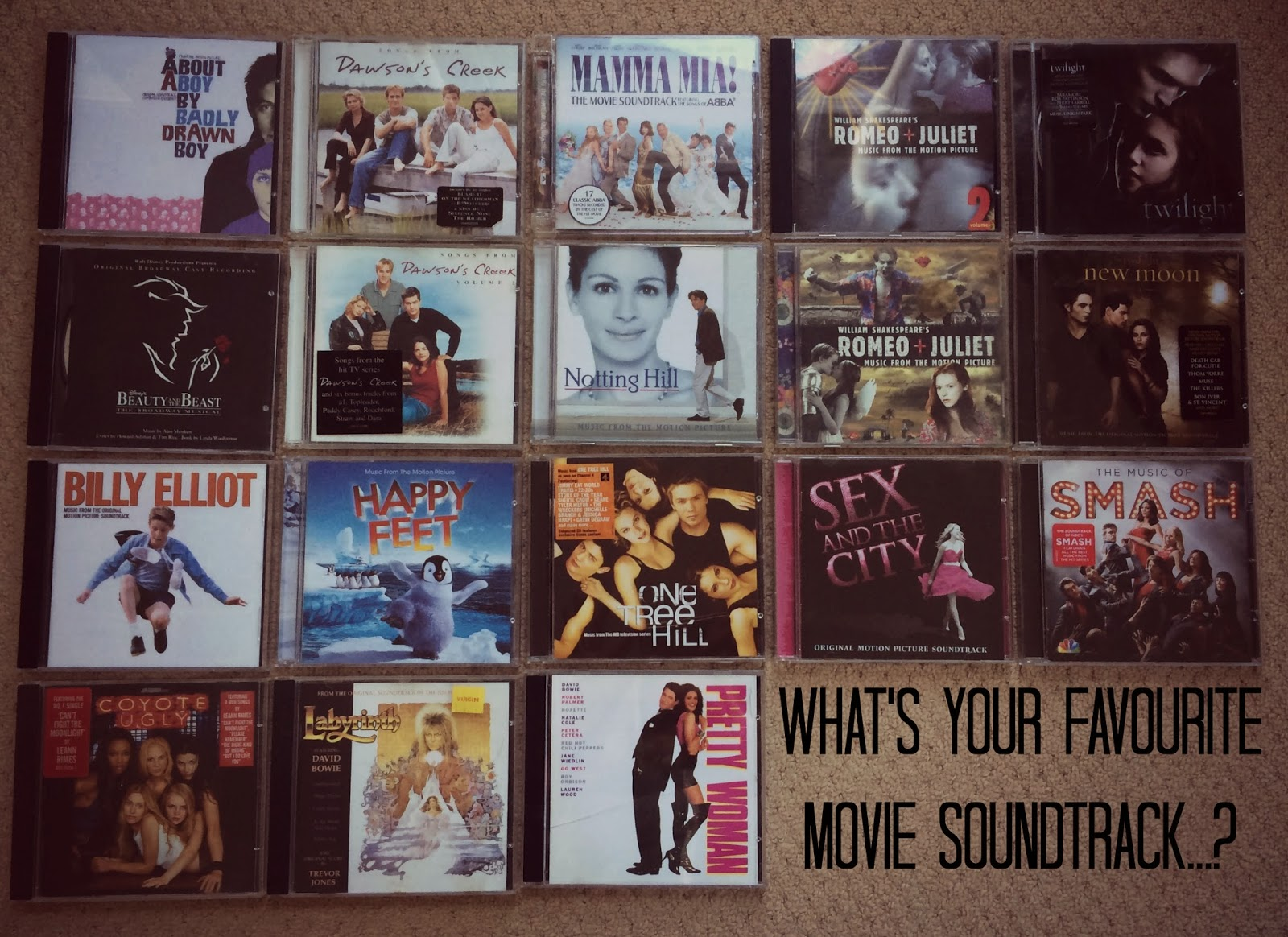 What's Your Favourite Movie Soundtrack...?