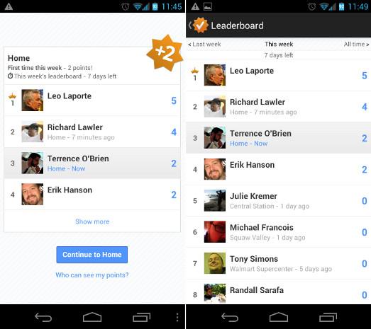 google Leaderboard