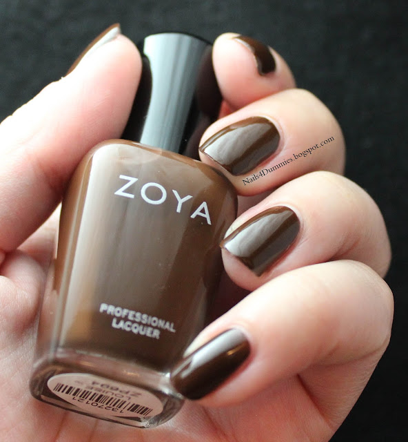 Nails4Dummies - Zoya Fall 2013 Cashmeres - Louise
