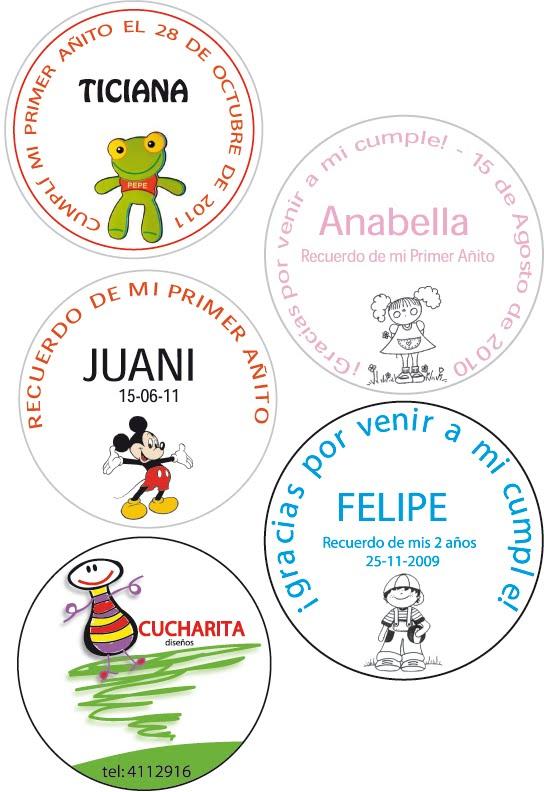 souvenirs personalizados y regaleria infantil: MINI TARJETITAS ...