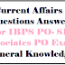 Current Affairs Quiz Questions For IBPS PO-SBI Associates General Awareness 2014