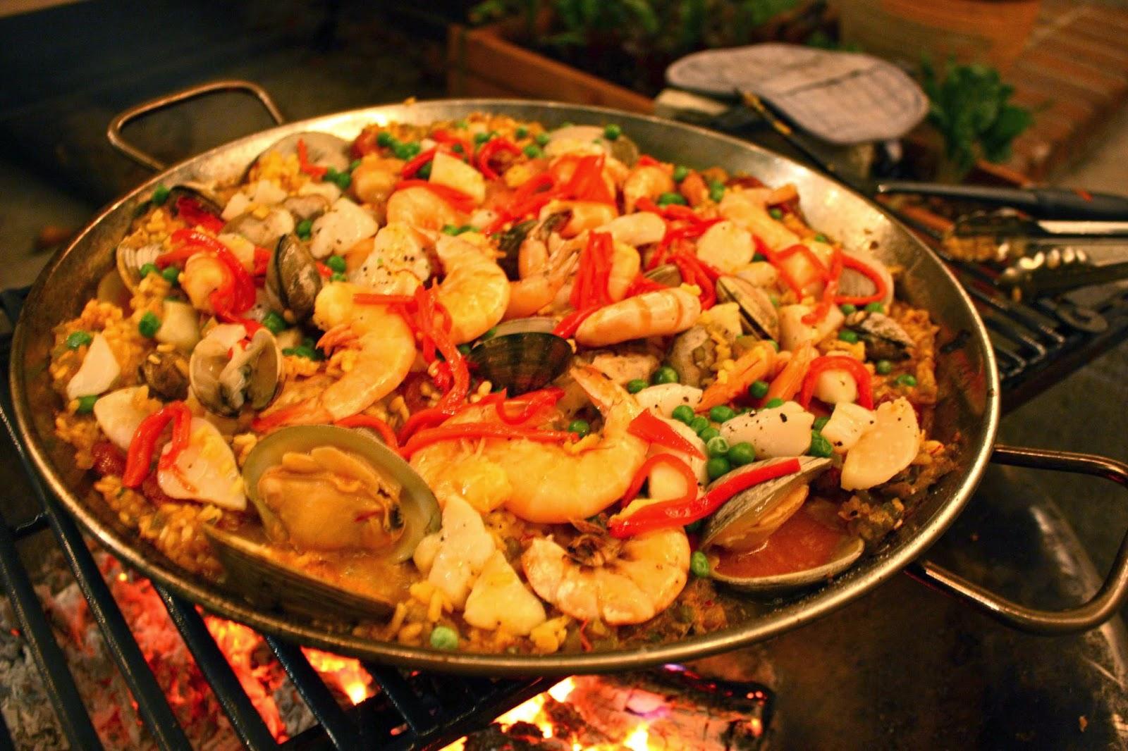 Испанские блюда рецепты
