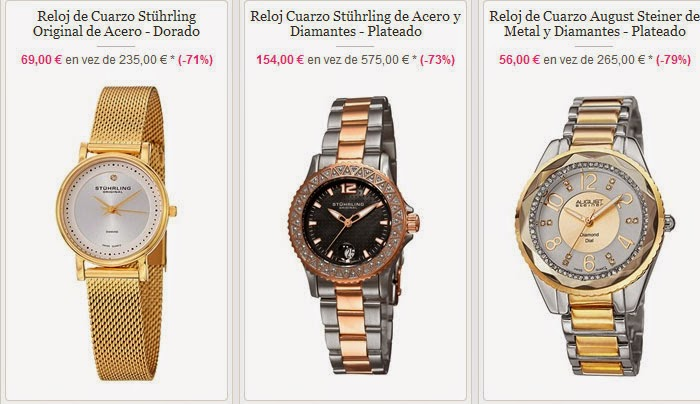 Relojes de calidad y dise o por menos de 100 euros for Sofas baratos menos 100 euros