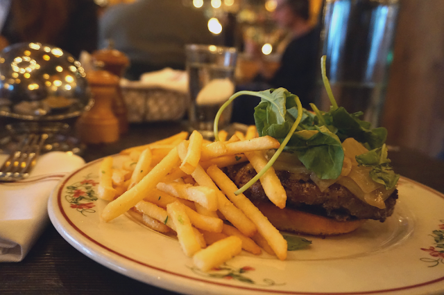 bowery hotel new york city gemma restaurant burger