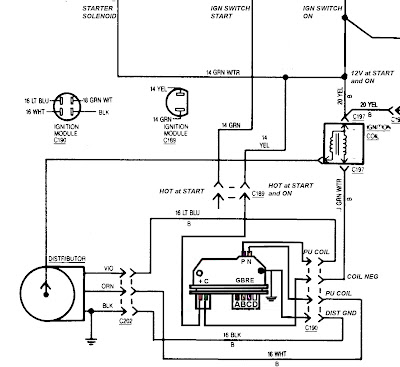 Wiring Diagram In Addition Small Cap Gm Hei Distributor besides Gm Tbi Ignition Wiring as well  on 5 pin hei module