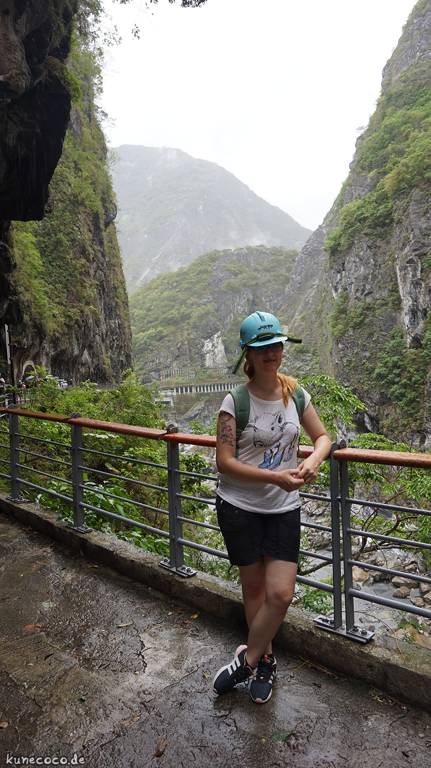 KuneCoco • Taroko National Park • Taiwan • Helmpflicht