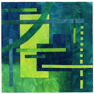 Blue-Green Collage 1