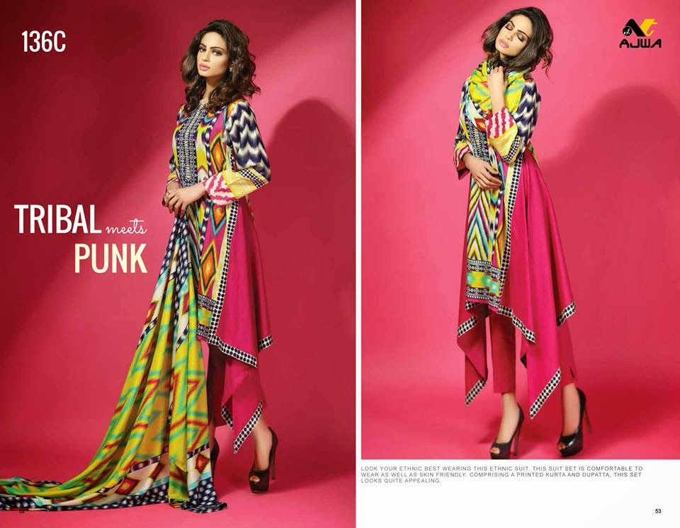 Spring Summer Lawn Prints Collection 2015