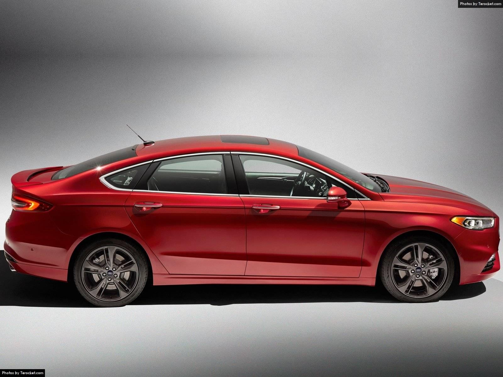 Hình ảnh xe ô tô Ford Fusion V6 Sport 2017 & nội ngoại thất