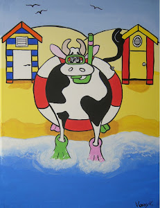 Mad Cow at the Beach