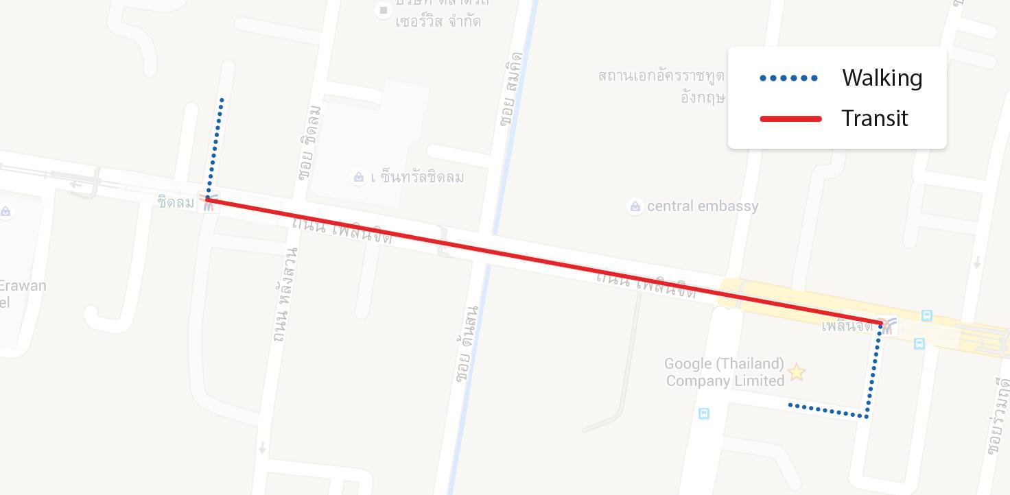 Android Code ���ช้งาน Google Maps Direction Api ���ห้ง่ายๆ