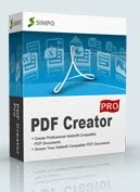 Make a PDF File with The Simpo PDF Creator Pro