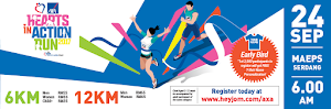 AXA Heart In Action Run 2017 - 24 September 2017