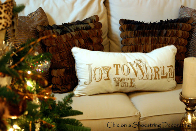 Christmas Pottery Barn Pillow