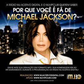 Tributo MJ MP3 - Participe!