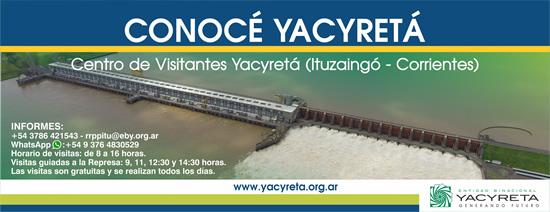 Visite Yacyretá