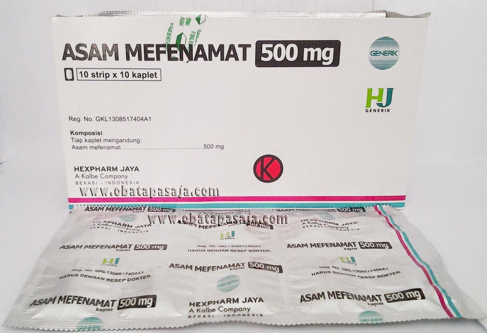 Asam Mefenamat analgesik untuk meringankan sakit gigi, sakit kepala