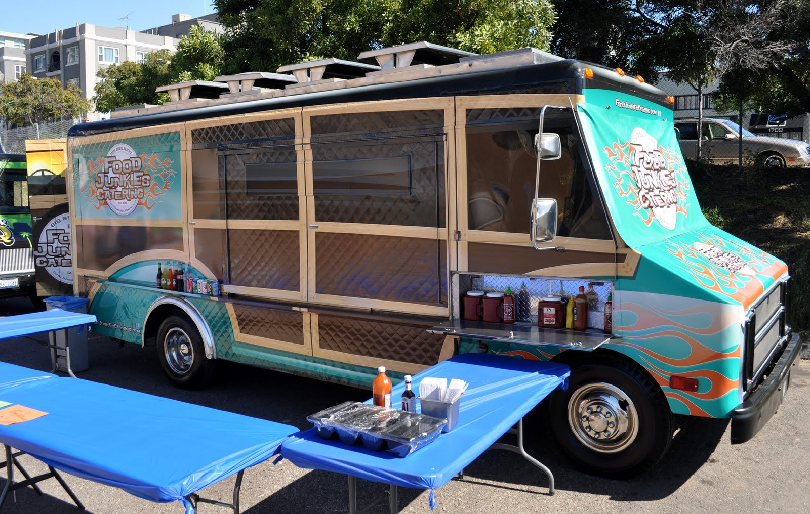 Paris creperie wins best food truck graphic design contest food trucks pinterest food truck food and food truck interior