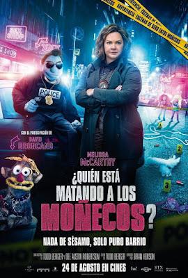 The Happytime Murders 2018 DVD R1 NTSC Latino
