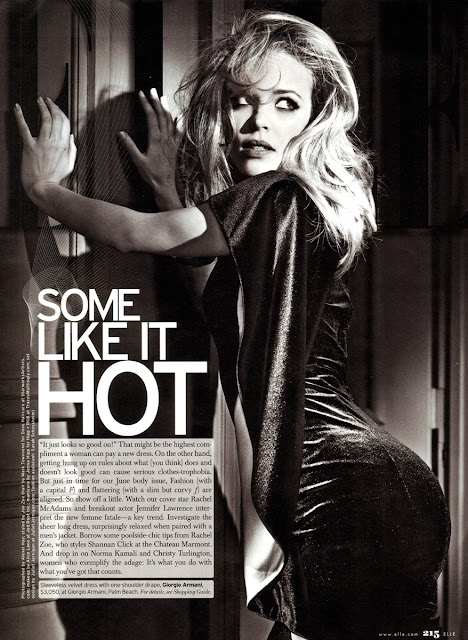 Rachel McAdams 'Elle' Photo Shoot 2011 June Magazine