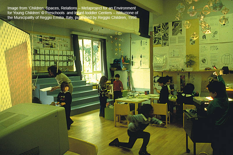 Reggio Classrooms http://kurihitotsu.blogspot.com/2011/06/deconstructing-creativity-environment.html