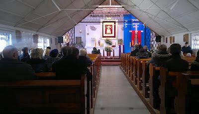 kaplica babie doły wewnątrz