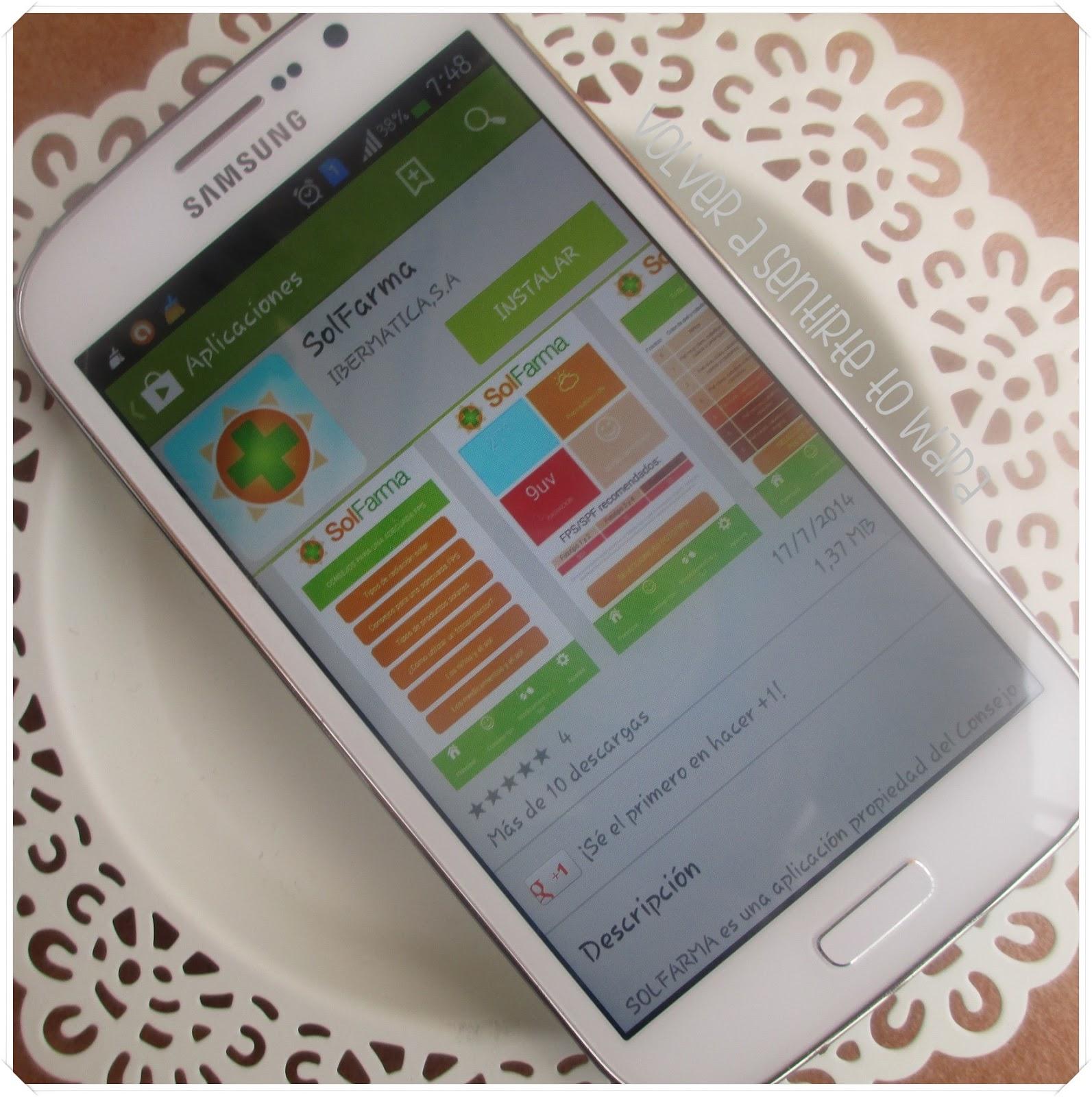 Solfarma - app de protección solar