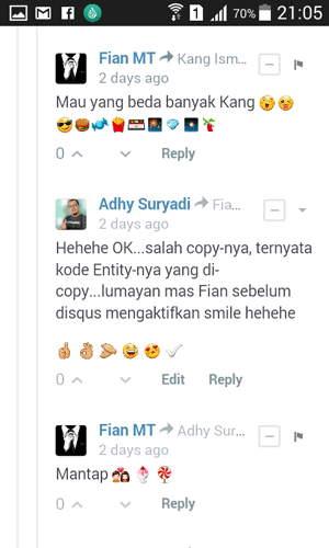 Emoji Pada Komentar Disqus