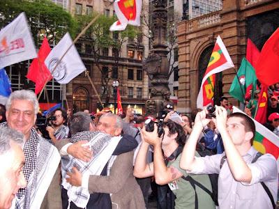 Ato histórico em São Paulo pelo Estado da Palestina Já - foto 11