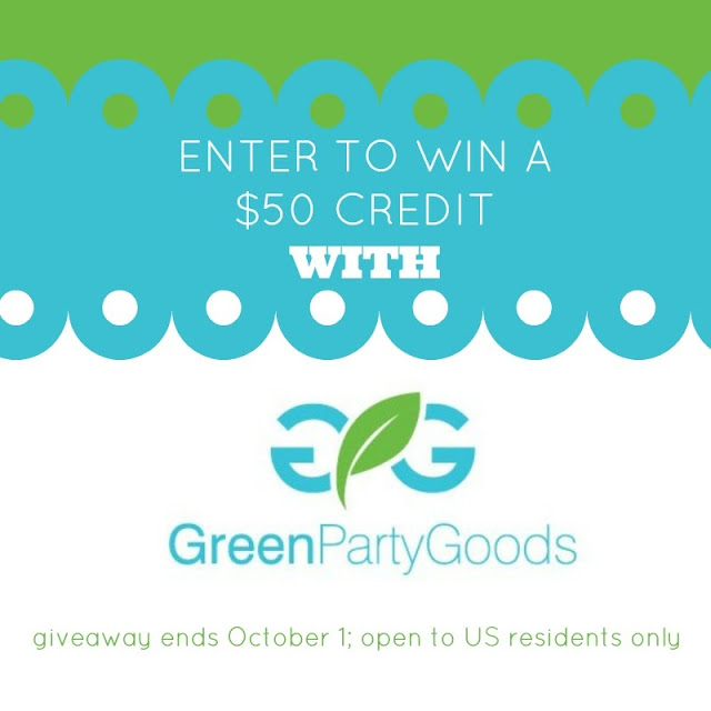 $50 Credit Giveaway With @GreenPartyGoods; ends Oct. 1