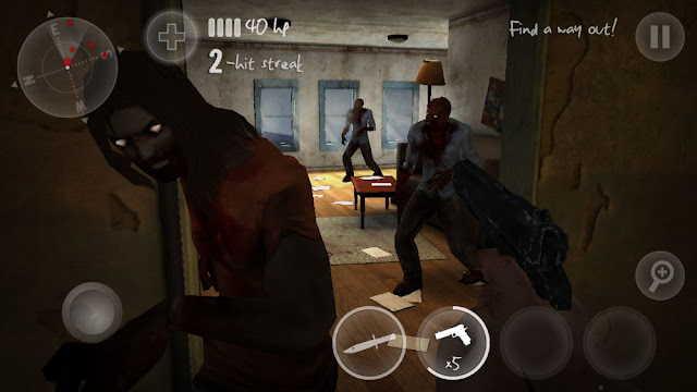 N.Y.Zombies 2 v1.00.03 Apk + Datos SD Full
