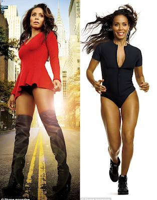 '5ft Gotham' Actress Jada Pinkett Reveals Her Beautiful Curves On The Cover Of Shape Magazine