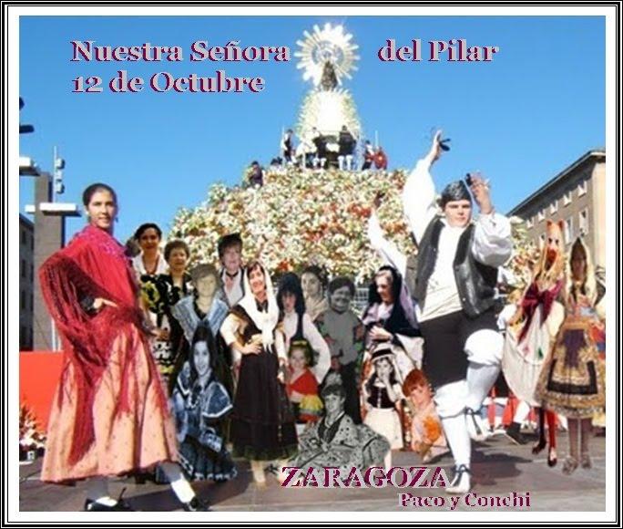 Recuerdo del viaje virtual a Zaragoza.