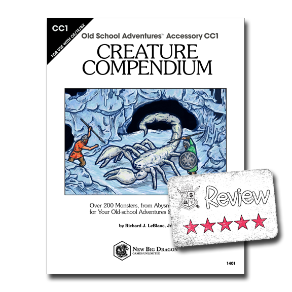 Frugal GM Review: Creature Compendium