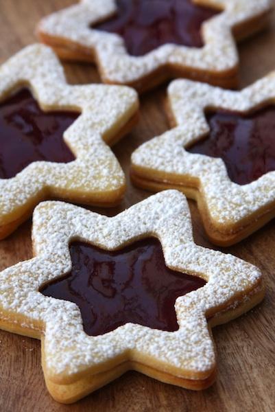 Linzer Cookie Stars Ahomemadeliving Bloglovin