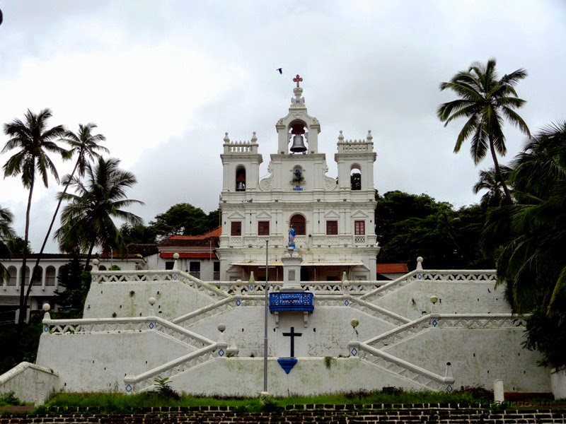 """Our Lady of the Immaculate Conception Church"" - Panjim, Goa Pick, Pack, Go"