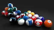 3D 8 Ball Game Wallpaper HD