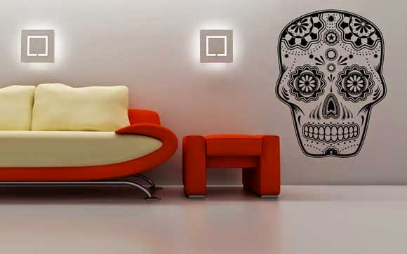 Skull Home Decor Decorated with skulls Join the fashion